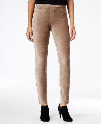 Style & Co. Corduroy Leggings, Only at Macy's $42.50 thestylecure.com