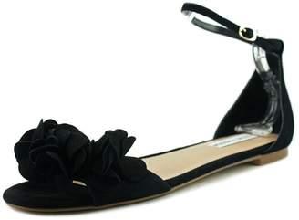 Steve Madden Womens Dorthy Open Toe Dress Sandals Black 5.5 Medium (B,M)
