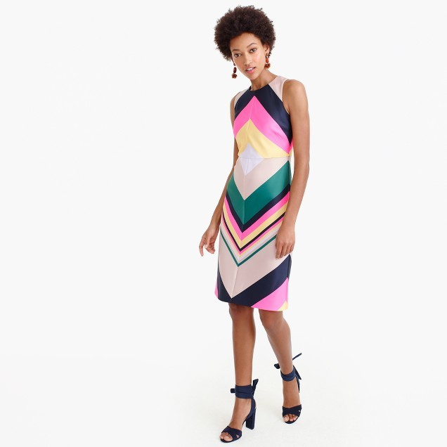 Pop-stripe dress