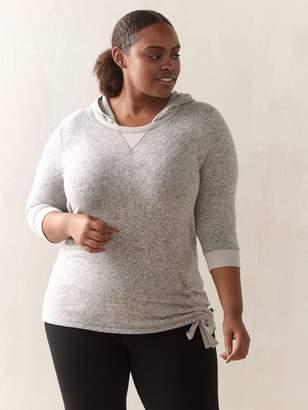 3/4-Sleeve Pullover Hoodie - ActiveZone