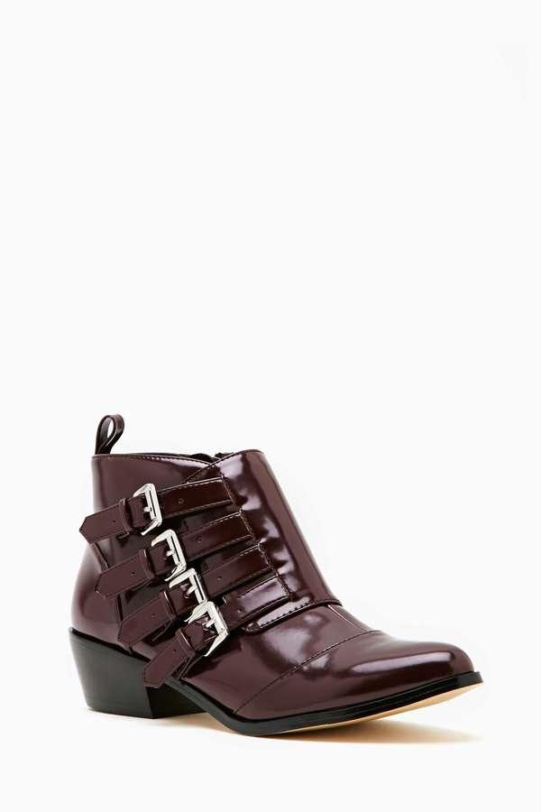 Nasty Gal Shoe Cult Conjurer Ankle Boot