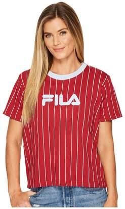 Fila Lonnie Pinstripe T-Shirt Women's T Shirt