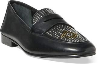 Ralph Lauren Ashtyn Studded Leather Loafer