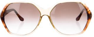 Thakoon Oversize Hexagon Sunglasses