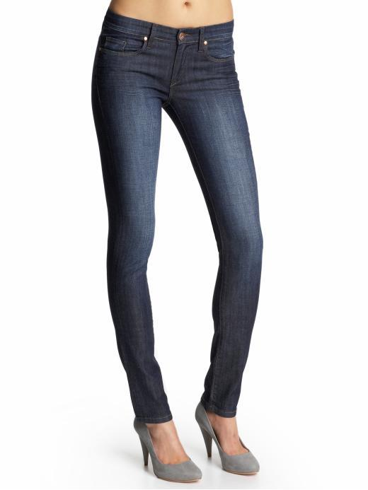 Blank Denim Stretch Knit Skinnie Jeans