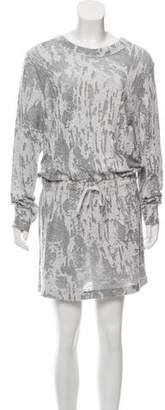 Norma Kamali Long Sleeve Mini Dress