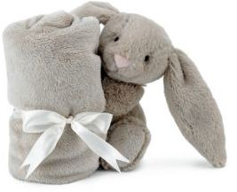 Jellycat Bashful Bunny Plush Toy & Soother Blanket $20 thestylecure.com