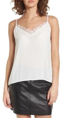 Women's Lush Lace Trim Camisole $35 thestylecure.com