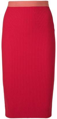 Fendi pencil midi skirt