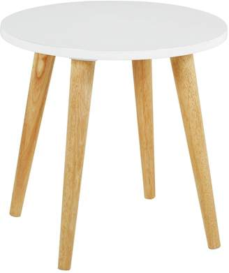 Habitat Clover Solid Wood Side Table