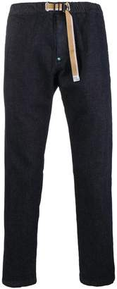 White Sand tapered cropped jeans