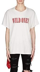 Amiri Men's Wild Ones Cotton T-Shirt - White