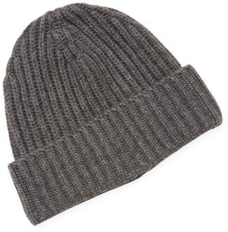 Hickey Freeman Men's Ribbed Hat with Cuff