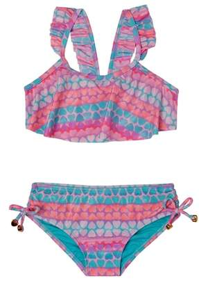 Hula Star Hearts Galore Two-Piece Swimsuit