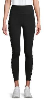 Calvin Klein Logo Stripe Crop Leggings