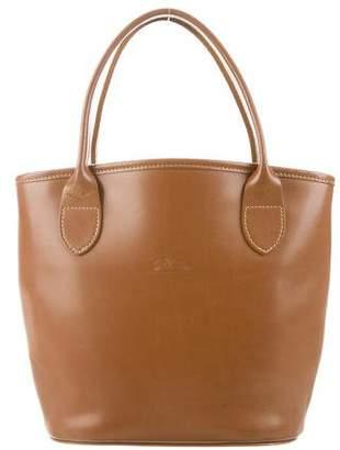 Longchamp Mini Leather Tote