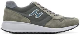 Hogan logoed panel sneakers