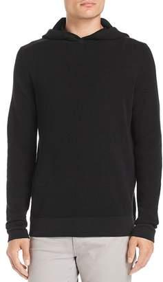 Theory Dami Waffle-Knit Hooded Sweatshirt