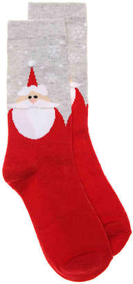 K. Bell Santa Crew Socks - Women's