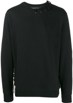 Craig Green lace-up detail sweatshirt