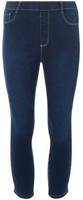 Dorothy Perkins Womens **Tall Indigo 'Eden' Cropped Jeggings