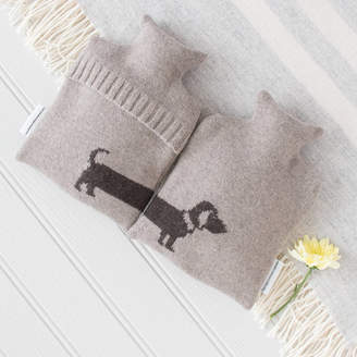The Fine Cotton Company Dog Lovers Knitted Hot Water Bottles