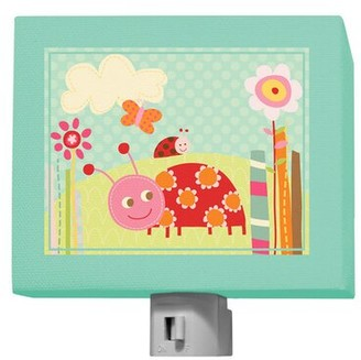 Oopsy Daisy Fine Art For Kids Ladybug Lane Night Light