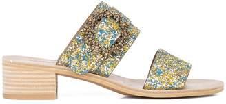 See by Chloe low heel glitter sandal