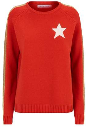 Bella Freud Star Cashmere Sweater