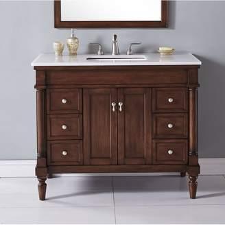 "Co Darby Home Deina 42"" Single Bathroom Vanity Set Base"