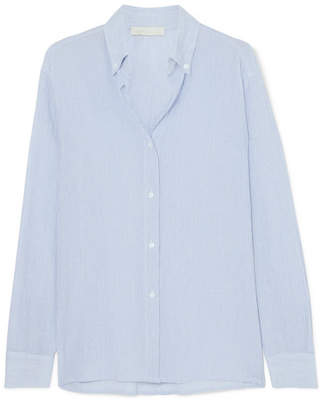 7798d7d1 Vanessa Bruno Druyat Striped Cotton-gauze Shirt - Blue