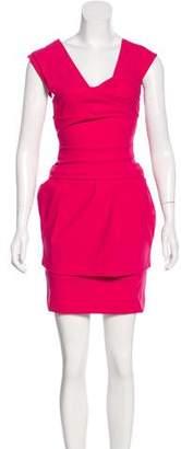 Preen by Thornton Bregazzi Pleated Sleeveless Dress