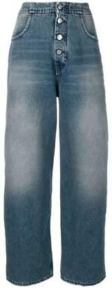 MM6 MAISON MARGIELA high-waist boyfriend jeans
