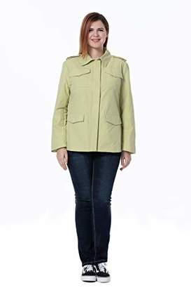 The Plus Project Ladies Nylon Twill Jacket