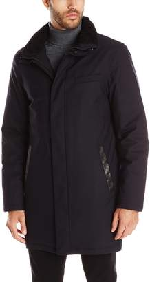 Mackage Men's Damari Wool Flannel Down Jacket