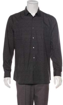 Burberry Point Collar Dress Shirt