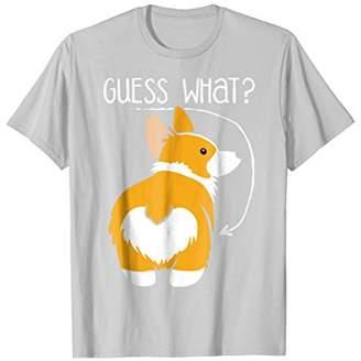 Corgi Butt Dog T-Shirt - Dog Lovers