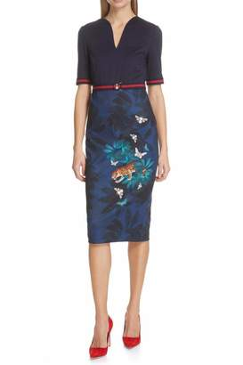 Ted Baker Printed Bodycon