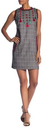Molly Bracken Fringe Tassel Woven Dress