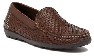Tommy Bahama Orson Basket Woven Leather Loafer