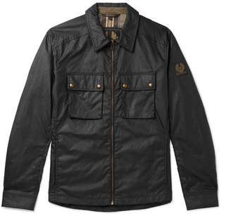 Belstaff Dunstall Waxed-Cotton Jacket - Men - Black