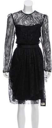 By Malene Birger Lace Midi Dress w/ Tags