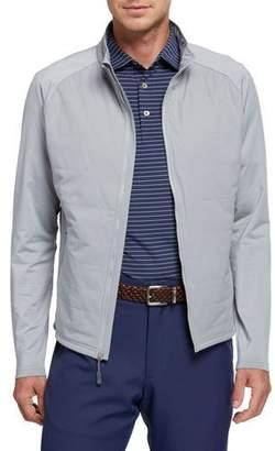 Peter Millar Men's Hybrid Zip-Front Jacket