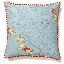 Thimble Sketch Pillow, Sky
