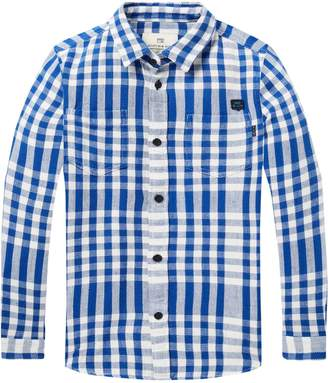 Scotch & Soda Checked Twill Shirt Regular fit