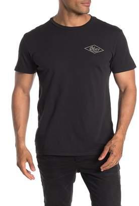 Obey Proto Script Short Sleeve Graphic Print T-Shirt