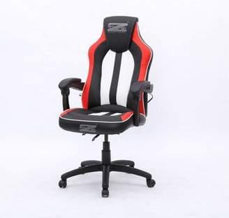 Brazen Stealth 4.0 Surround Sound Bluetooth Pc Gaming Chair - Black/white/red