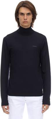 DSQUARED2 Wool Knit Turtleneck Sweater