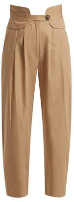 Sea Cruise Cotton Blend Trousers - Womens - Beige