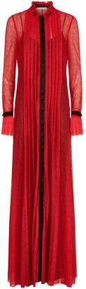 Philosophy di Lorenzo Serafini Lace High Neck Dress